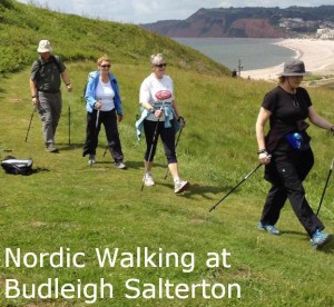 NW at Budleigh salterton